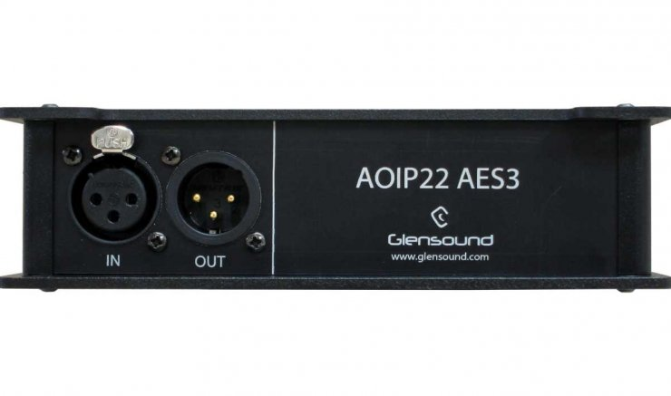 AOIP22 AES3 Front BAN
